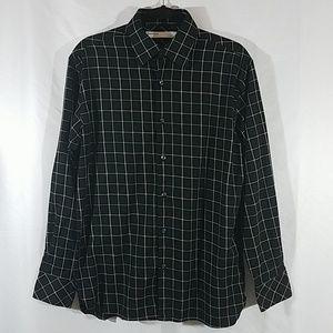 Perry Ellis Black Dress Shirt